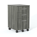 Medina Box-Box-File Pedestal in Gray Steel