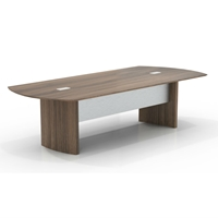 Medina 10 Conference Table in Textured Brown Sugar Laminate