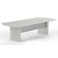 Medina 10 Conference Table in Textured Sea Salt
