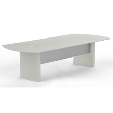 Medina 10' Conference Table in Textured Sea Salt
