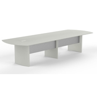 Medina 12 Conference Table in Textured Sea Salt