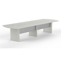 Medina 14 Conference Table in Textured Sea Salt