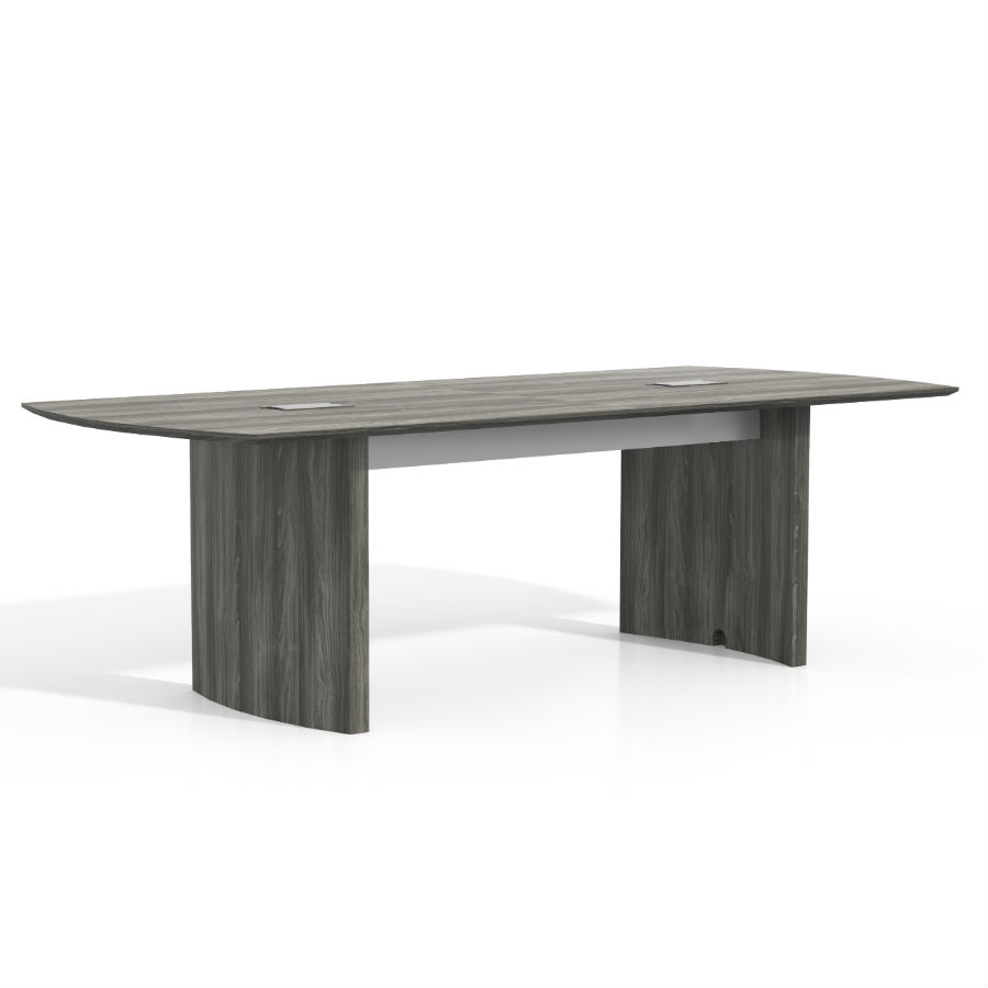 Mayline Medina Conference Table In Gray Steel Laminate MNCLGS - Medina conference table