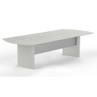 Medina 8 Conference Table in Textured Sea Salt