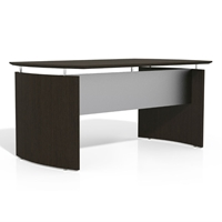 "Medina 63""W Desk in Mocha Laminate"