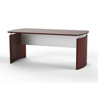 "Medina 72""W Desk in Mahogany Laminate"