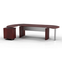 "Medina 72""W Desk in Mahogany"