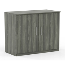 Medina Storage Cabinet in Gray Steel