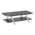 Mirella Coffee Table in Stone Gray