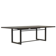 Mirella 8' Conference Table in Southern Tobacco