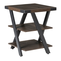Mirella End Table in Southern Tobacco
