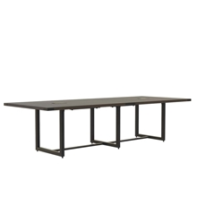 Mirella 10' Conference Table in Southern Tobacco
