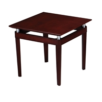 Napoli End Table in Sierra Cherry