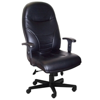 Executive Leather High Back Chair