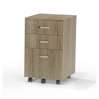 SOHO Box/Box/File Pedestal with Casters