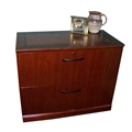 Sorrento 2-Drawer Lateral File in Bourbon Cherry