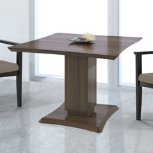 "Sterling 42"" Square Conference Table in Textured Brown Sugar"