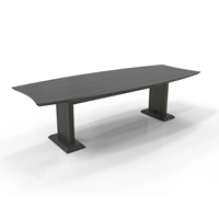 Sterling 8 Rectangle Conference Table in Textured Driftwood Laminate