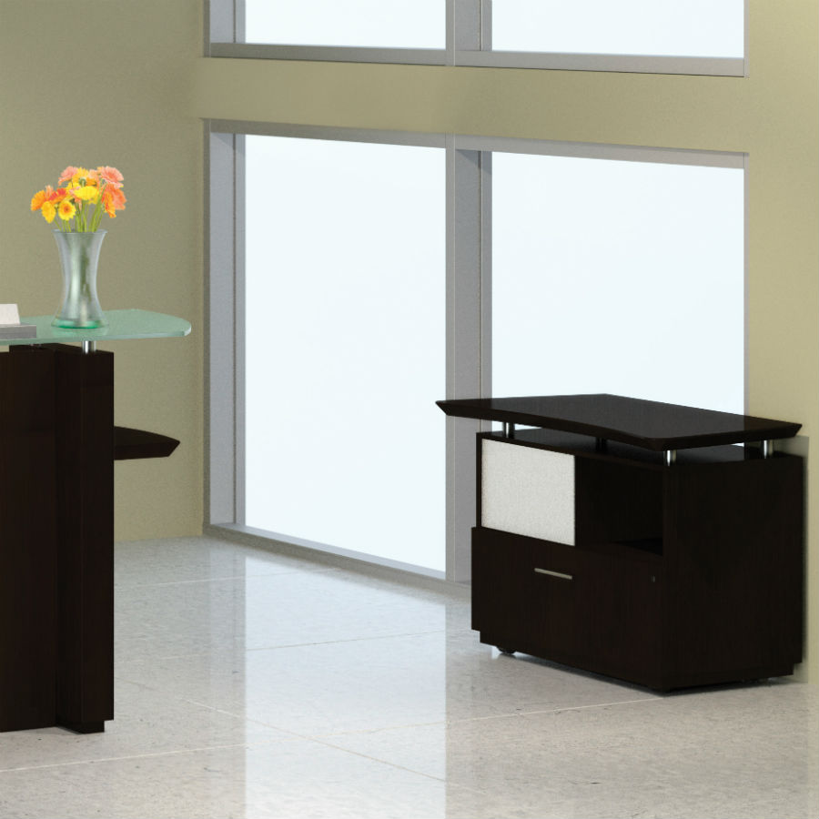 Sterling Reception Lateral File Sliding Door In Mocha Sterctdc