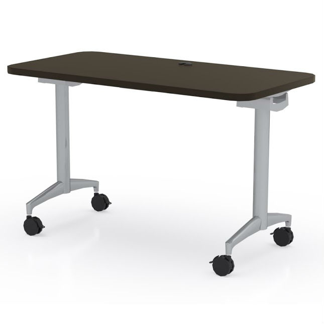Mayline X Cohere Flip And Nest Table FR DEW Office - 18 x 60 training table