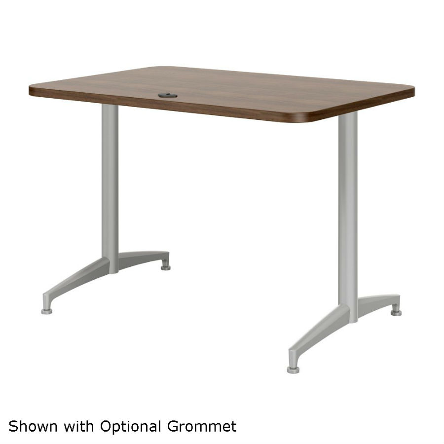 Mayline X Cohere Training Table HR DEW Office Furniture - 18 x 60 training table