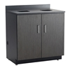 Hospitality Base Cabinet, Waste Receptacle Hospitality cabinets; Cabinet; Break room cabinets; Breakroom cabinets; Break room storage; Breakroom storage; Hospitality storage; Cafeteria cabinets; Cafeteria storage; Modular cabinets; Modular storage; Shelving; Storage cabinets; Cabinet with garbage can; Cabinet with trash container