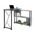 Mood Standing Height Desk with Rotating Work Surface
