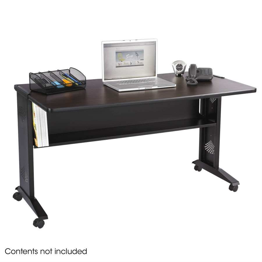 Safco 54 Quot W Reversible Top Mobile Desk 1933 Dew Office
