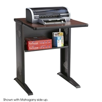 Reversible Top Fax/Printer Stand Printer stand; Flip top desk; Fax machine stand; Machine stand; Two color printer stand; Two color machine stand