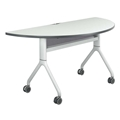 "Rumba 60"" x 30"" Half-Round Nesting Table"