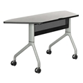 "Rumba 60"" x 24"" Trapezoid Nesting Table"