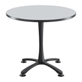 "Cha-Cha 36"" Round Table with X-Base"