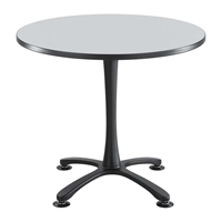 "36"" Round Cha-Cha Dining Table Collaboration table; Conference table; Meeting table; Sitting height table; Round table; Short table; Table and base; Table with base; Break room table; Gathering table"