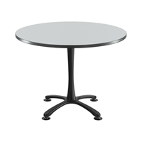 "42"" Round Cha-Cha Dining Table Collaboration table; Conference table; Meeting table; Sitting height table; Round table; Short table; Table and base; Table with base; Break room table; Gathering table"