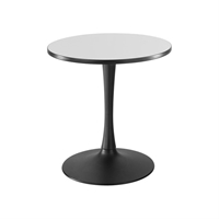 "30"" Round Cha-Cha Dining Table Collaboration table; Conference table; Meeting table; Sitting height table; Round table; Short table; Table and base; Table with base; Break room table; Gathering table"