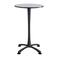"30"" Round Cha-Cha Bistro Table Collaboration table; Conference table; Meeting table; Bistro height table; Round table; Tall table; Table and base; Table with base; Break room table; Gathering table; Standing table; Stand up table; Standup table"