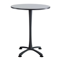 "Cha-Cha 36"" Bistro-Height Round Table with X-Base"