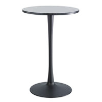 "Cha-Cha 30"" Standing-Height Round Table with Trumpet Base Collaboration table; Conference table; Meeting table; Bistro height table; Round table; Tall table; Table and base; Table with base; Break room table; Gathering table; Standing table; Stand up table; Standup table"