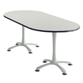 "84"" x 36"" Cha-Cha Oval Meeting Table"
