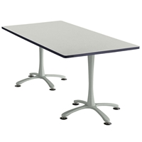"72"" x 36"" Cha-Cha Rectangular Meeting Table Collaboration table; Conference table; Meeting table; Bistro height table; Round table; Tall table; Table and base; Table with base; Break room table; Gathering table; Standing table; Stand up table; Standup table"
