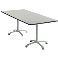 "84"" x 36"" Cha-Cha Rectangular Meeting Table Collaboration table; Conference table; Meeting table; Bistro height table; Round table; Tall table; Table and base; Table with base; Break room table; Gathering table; Standing table; Stand up table; Standup table"