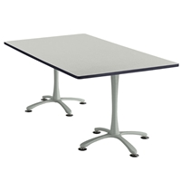 "72"" x 42"" Cha-Cha Rectangular Meeting Table Collaboration table; Conference table; Meeting table; Bistro height table; Round table; Tall table; Table and base; Table with base; Break room table; Gathering table; Standing table; Stand up table; Standup table"