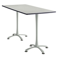 "72"" x 36"" Cha-Cha Standing-Height Rectangular Team Table"