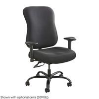 Optimus 400lb Capacity Big and tall chair; Big and tall office chair; Chairs for computer; Chairs for desk; Black big and tall chair; Black big and tall office chair; Black chair; Black chairs for computer; Black chairs for desk; Black seating