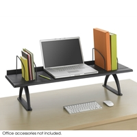 "42"" Shelf Desk Riser Desk organizer; Desk shelf; Desk tray; Desk accessories; Black desk organizer; Black desk shelf; Black desk tray; Black desk accessories; Computer stand"