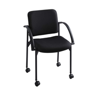 Moto Stack Chair Chairs; Fabric stack chair; Mobile stack chair; Seating; Auditorium chairs; Black chairs; Black fabric stack chair; Black mobile stack chair; Black seating; Black auditorium chairs; Traing room chairs; Training room seating