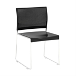 Currant High-Density Mesh Back Stack Chair