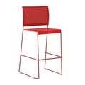 Currant Mesh-Back Bistro Chair