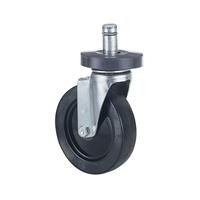 Caster Kit - 4 Swivel (2 Locking) Caster for LAN furniture; LAN furniture caster