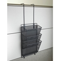 Onyx Mesh Panel Organizer Triple Basket